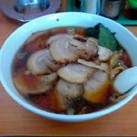 木更津『ラーメン華族』で特盛りチャーシュー麺