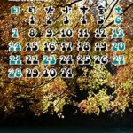 『Willcom 9、9(nine)+』時計ガジェット対応のカレンダー壁紙