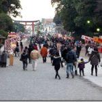 鎌倉鶴岡八幡宮へ遅延初詣