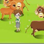 mixiアプリ『サンシャイン牧場』に家畜女ヨッパラウカノジョ登場