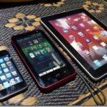 住み分けてる『iPad』と『GALAPAGOS(ガラパゴス)』