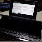 『Nexus 7』と『ポメラDM100』をBluetoothで繋いでみた