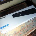 『Bose Solo 5 TV sound system』4Kテレビをよりリッチな音響に
