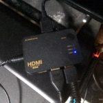 4Kテレビとプレステ4 ProでHDMIセレクタを使いたい