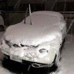 ひさびさの大雪でオールシーズンタイヤの雪上走行