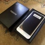 ついにケータイをスマートフォン『AQUOS R compact SH-M06』に機種変更(仮)